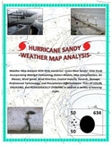 Weather: Hurricane Sandy (National and Regional Weather Map Analysis)