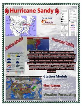 Weather: Station Models-HURRICANE SANDY-Forecasting. ONE OF A KIND!