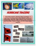 Weather: Hurricane Tracking - Longitude and Latitude (BONUS Activities)
