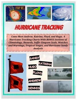 Weather: Hurricane Tracking - Longitude and Latitude (BONU
