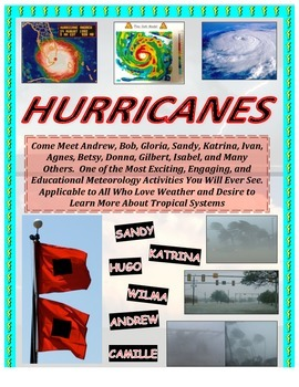 Weather: Hurricanes! LOADED with Forecasting Application/M