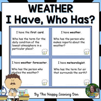 Weather - I Have, Who Has?
