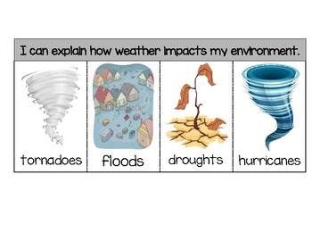 Weather Impacts Environment Flipbook
