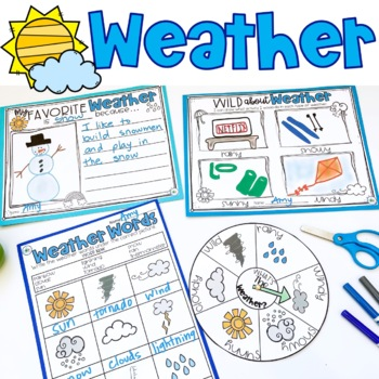 Weather: Informational Interactive Read-Aloud Lesson Plans and Activities