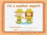 Weather Inquiry Unit booklet