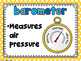 Weather Instrument Classroom Posters