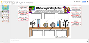 A Meteorologist's Helpful Tools - Weather Instrument Cut & Paste