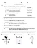 Weather Instrument Quiz