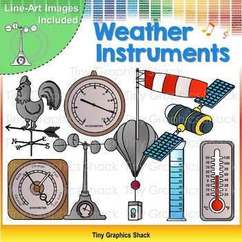 Weather Instruments Clip Art