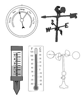 Weather Instruments Clipart