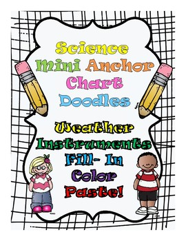 Weather Instruments Fill in the Blank Anchor Chart