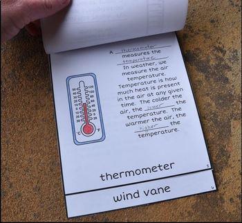 Weather Instruments Flipbook