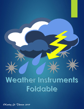 Weather Instruments Foldable