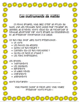 Weather Instruments - French