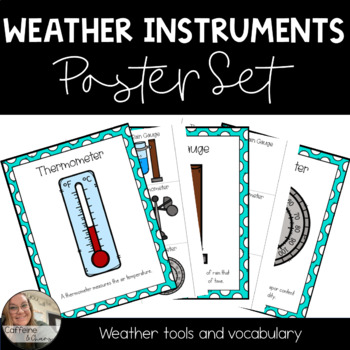 Weather Instruments Post Set