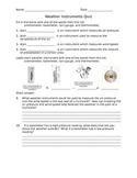 Weather Instruments Quiz