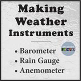 Weather Instruments: Rain Gauge, Barometer, NGSS 3-ESS2-1