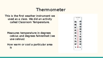 Weather Instruments Slideshow