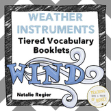 Weather Vocabulary Activity - Weather Instruments Differentiated Templates