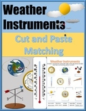 Weather Instruments - Weather Instrument Matching - Weather Vocabulary