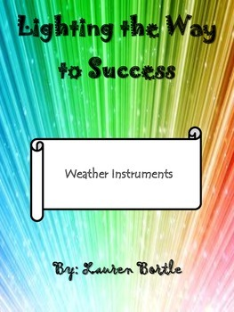 Weather Instruments - explanations, matching, and visuals