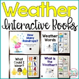 Weather Interactive Books (Adapted Books For Special Education & Autism Classes)