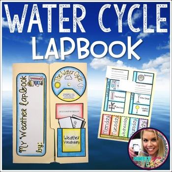 Weather Interactive Lapbook: Water Cycle, Wild Weather, Weather Tools