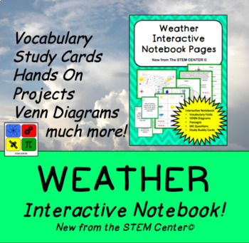 Weather Interactive Notebook
