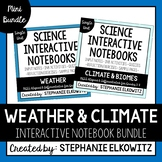 Weather and Climate Interactive Notebook Unit Bundle