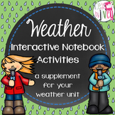 Weather Interactive Notebook Activities