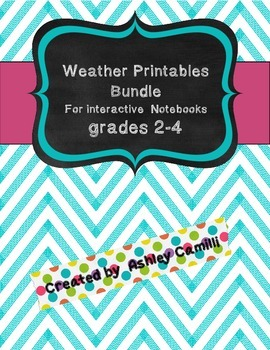 Weather Interactive Notebook Printables