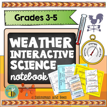 Weather and Climate-Interactive Science Notebook {foldables}