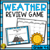 Weather Lessons- Interactive Review Game