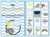 Weather Interactive Vocabulary Book