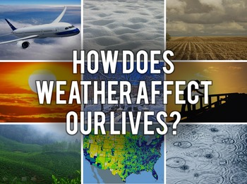 How Does Weather Affect Our Lives?