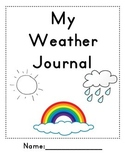 Weather Journal Cover