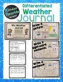 Weather Journal Notebook