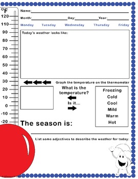 Weather Journal Template
