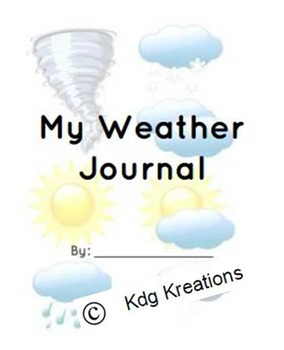 Weather Journal- Writing- Nonfiction