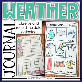 Weather Journal and Data Collection for Kindergarten and First Grade