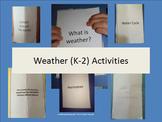 Weather (K-3) Interactive Booklet