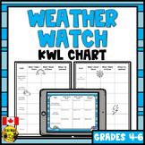 Weather KWL Chart