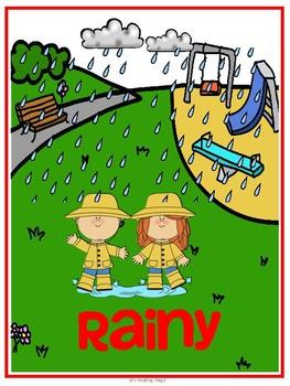 Weather Kindergarten Unit for the  Louisiana K-2 Guidebook