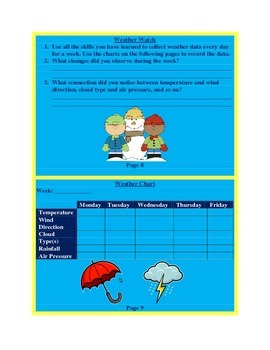 Weather Lab Book & Study Guide
