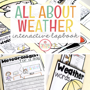 WEATHER INTERACTIVE LAPBOOK