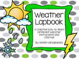Weather Lapbook - Teaching Storms and Weather Instruments