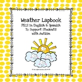 PECS Weather Lapbook in English & Spanish