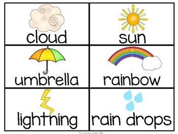 Weather Learning Pack