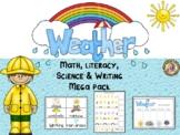 Weather for Preschool and Kindergarten (Math, Science, ELA)