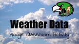 Weather Line/Dot Plot 4.9A Google Classroom